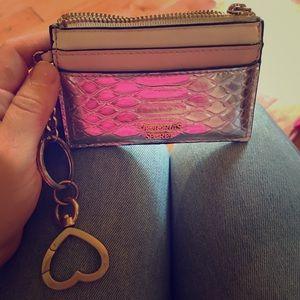 Victoria's Secret card case wallet